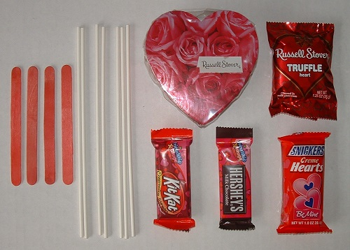 Homemade Valentine Gifts for him - Candy Bouquet