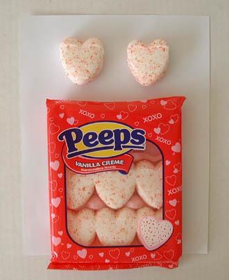 Schön Valentine Peeps Hearts Crafts