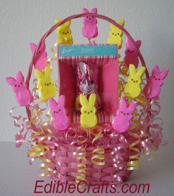 Easy Easter Crafts Candy Basket Craft From
