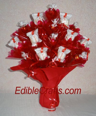 Unique Mother's Day gifts - candy bouquet