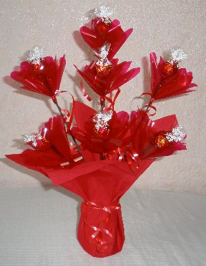 Mother's Day gift ideas - candy bouquet step 4