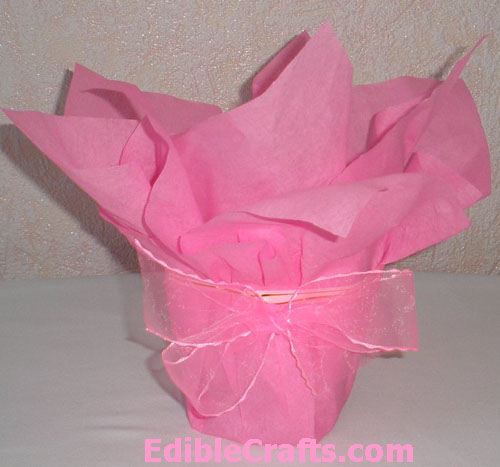 Easter gifts for kids diy chocolate egg bouquet easy easter gifts to make negle Choice Image