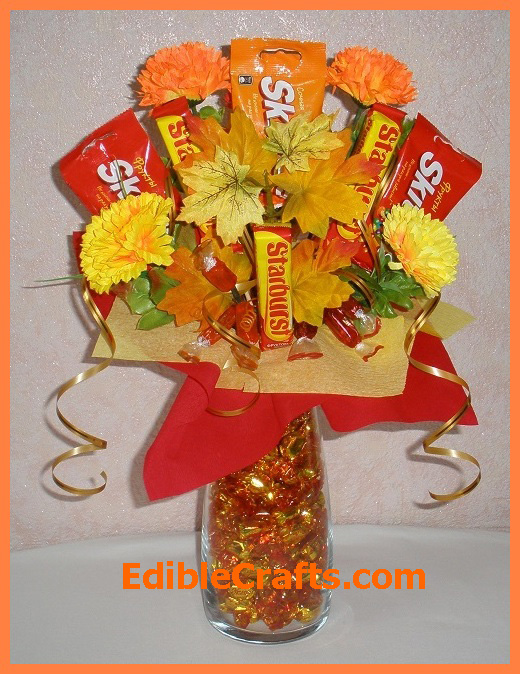 Thanksgiving decoration ideas - Candy Centerpiece & Thanksgiving decoration ideas u2013 awesome table centerpieces