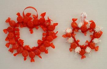 Делаем подарки из конфет своими руками на День святого Валентина.