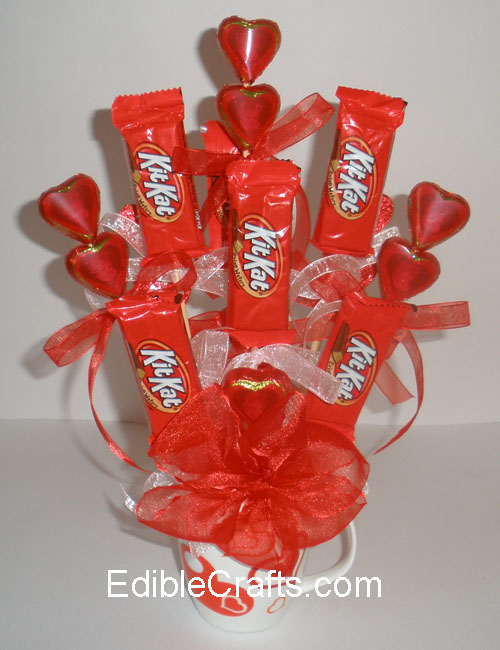 Schön Valentines Day Gift Ideas   Candy Bouquet Diy