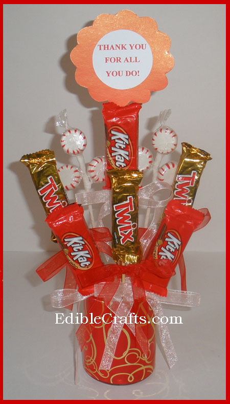 End Of Year Teacher Gifts Candy Bouquet Thank You Gift