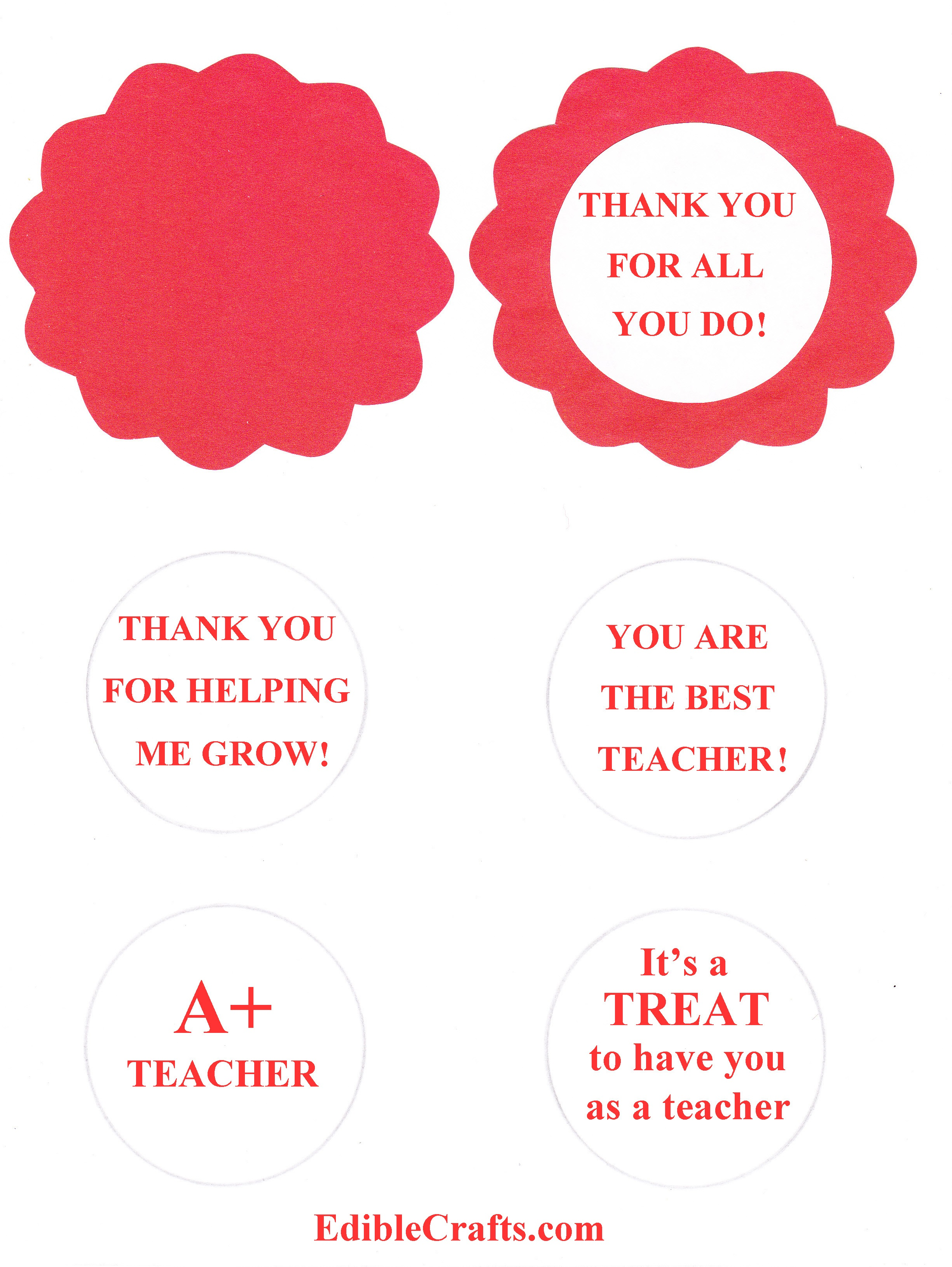 End of year teacher gifts candy bouquet thank you gift print out these teacher appreciation gift tags free negle Image collections