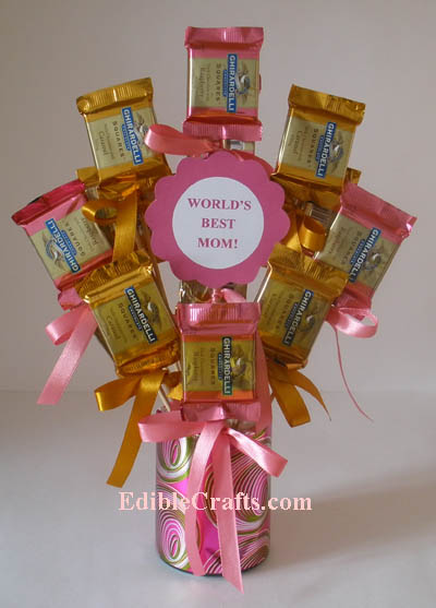 Mother S Day Presents Candy Bouquet Gift Idea