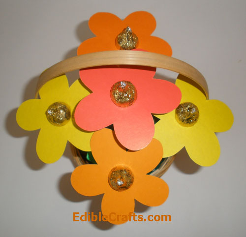 Easy to make candy flower bouquet