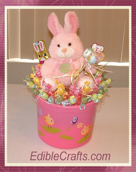 Easter Crafts For Kids Candy Centerpiece