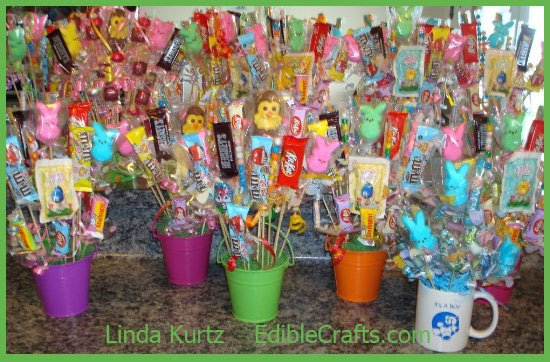 Crafts with Candy: Candy Bouquets of our Fans How To Instructions From ...