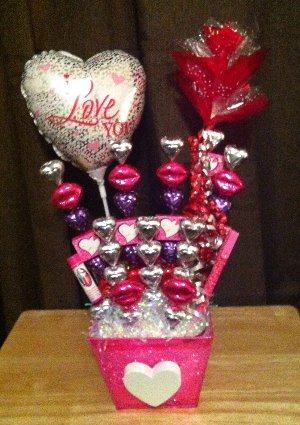 valentine's day edible crafts