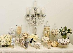 White Wedding Candy Bar Idea 1