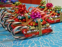 tasty sleighs - Christmas Candy Bouquet