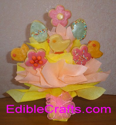 Easter gifts cookie bouquet easter cookie bouquet negle Gallery