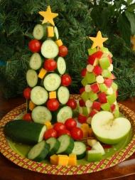 Edible árbol de Navidad