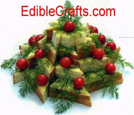 Edible Vegetable Crafts http://ediblecraftsonline.com/newsletter/message015/index.htm