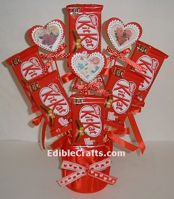 Kit kat chocolate bouquet